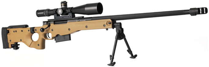 Accuracy International AWM-L115A3 Sniper Rifles
