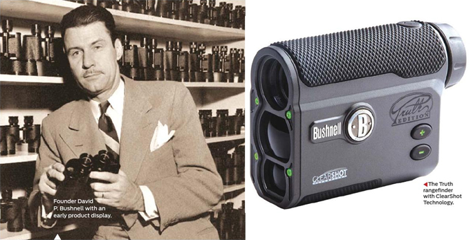 Bushnell optics history