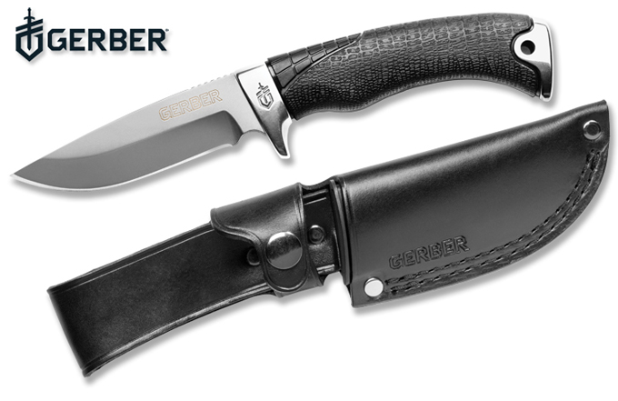 Gerber Gator Premium Fixed Blade & Premium Folder Clip Point Knife