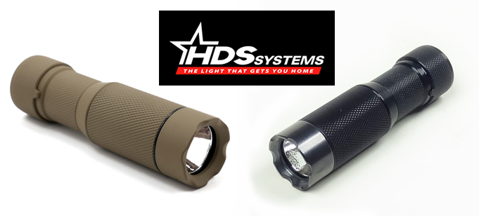HDS systems edc tactical flashlight
