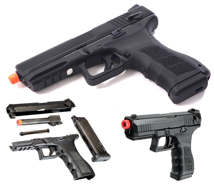 KWA ATP Gas Pistol Select Fire Airsoft pistol for sale online