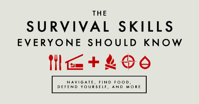 Know your survival skills