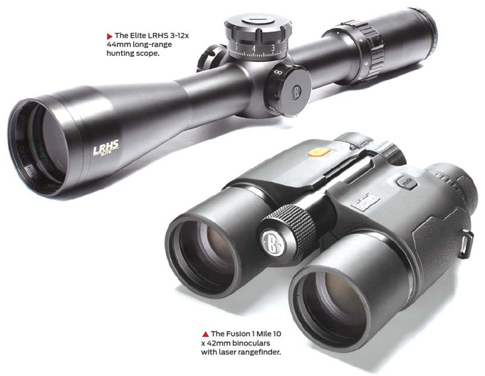Latest Bushnell optics