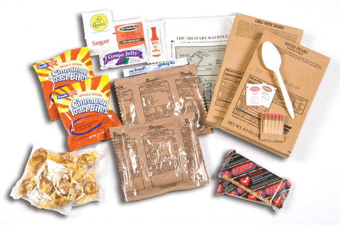 MRE foods for hunting trips