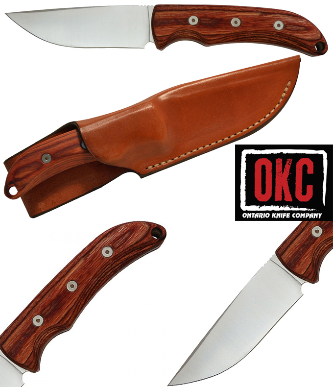 Ontario Robeson Heirloom Drop Point & Trailing Point Knives
