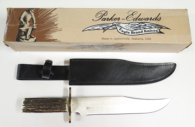 Parker Edwards Aregos Damascus Knife