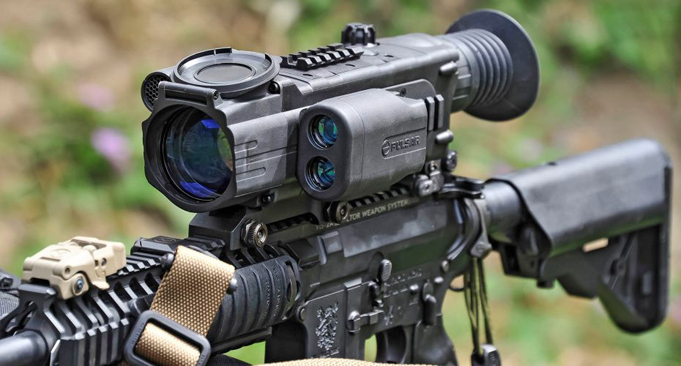 Pulsar Digisight N960 and N970 on AR15 carbine