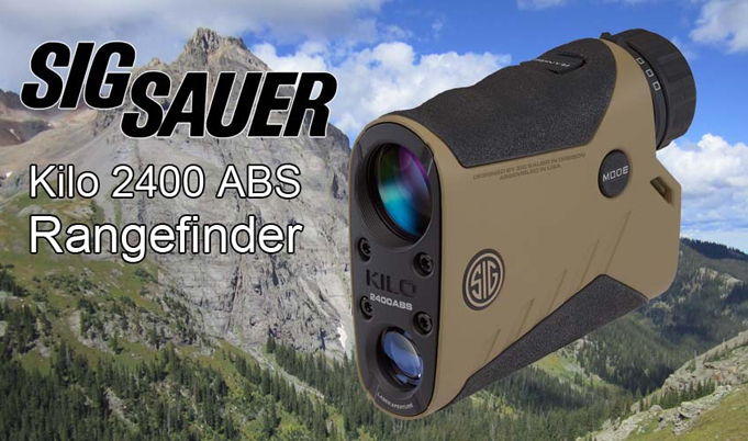 SIG Sauer KILO2400ABS Rangefinder For Sale