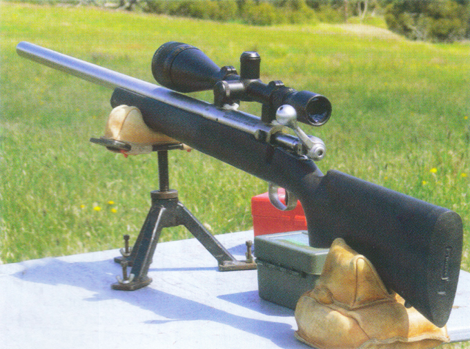 Savage LRPV .22-250 Remington 6x24 Simmonds Variable Scope