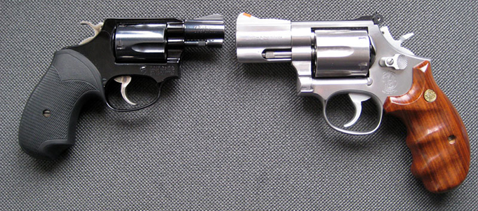 Self defense revolvers