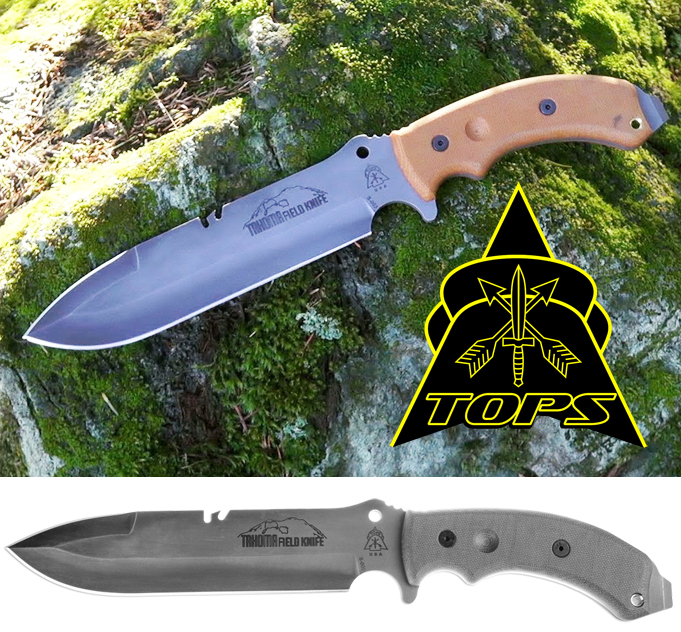 TOPS Knives Tahoma field knife for sale