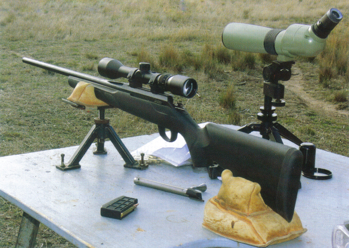 Tikka T3 6.5x55-3x9-Bushnell scope