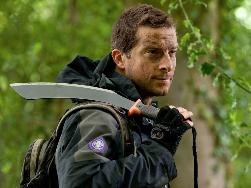 Bear Grylls Interview