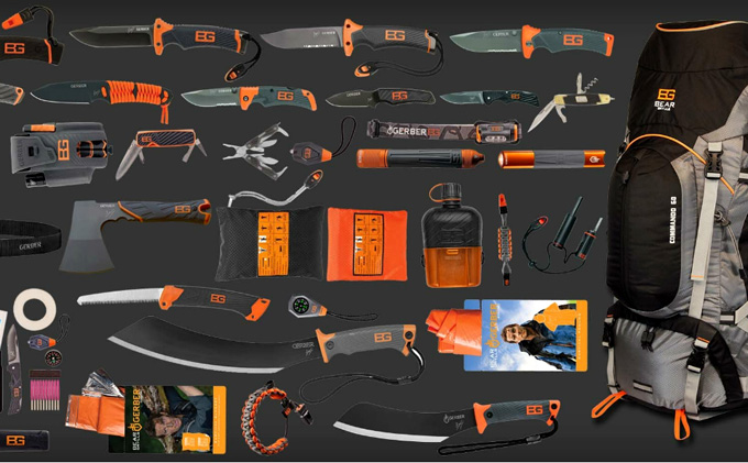 Bear Grylls Ultimate Survival Pack