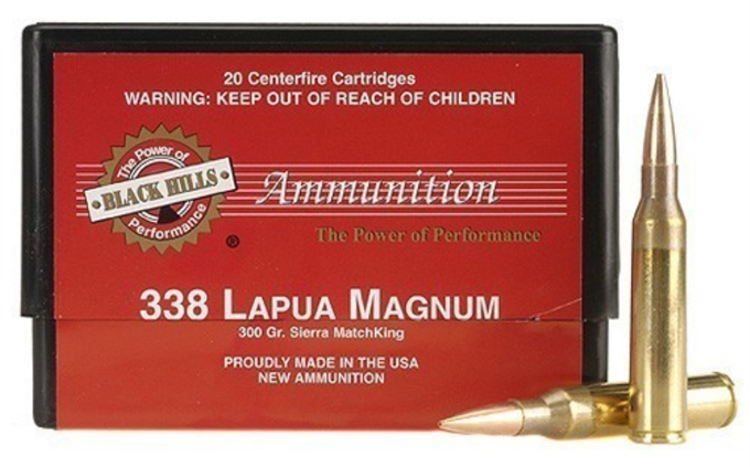 Black Hills Lapua ammunition
