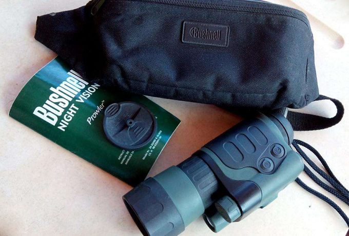 Bushnell 4x50 Prowler Night Vision Monocular Review