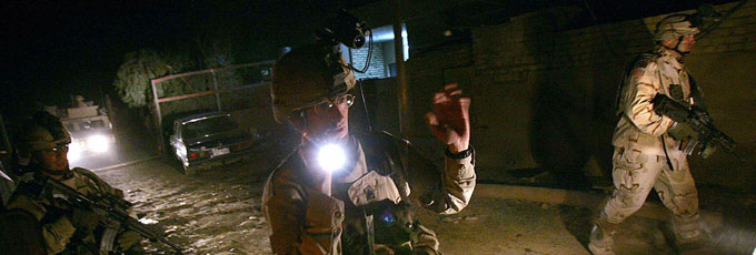 Combat Flashlight For Soldiers