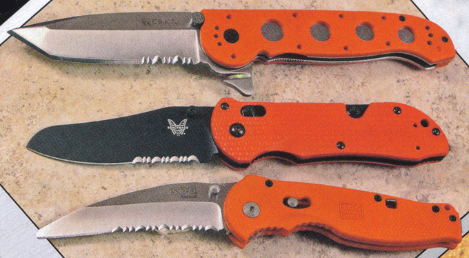 CRKT M16 12ZER Knife Review & Benchmade Triage Knife Review & SOG Flash Rescue Knife Review