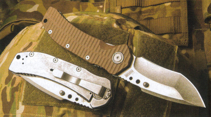 Hardcore Hardware MILF-01 Folder Combat Knife