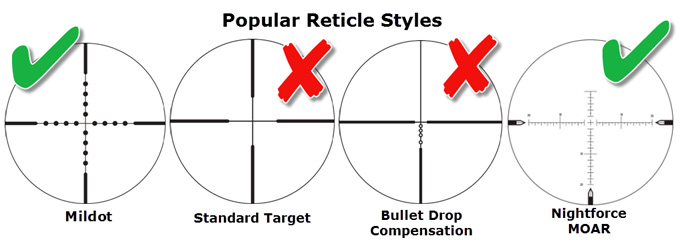 How To Choose A Rifle Scope Reticle
