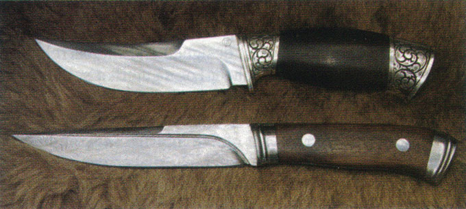 Kizlyar Damascus Steel Knives