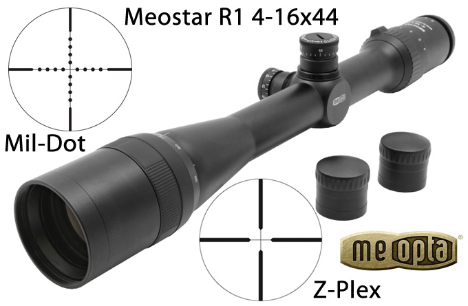 Meopta Meostar R1 4-16x44 Riflescope Review