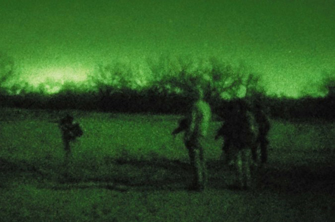 Night hunting using night vision and thermals night vision picture