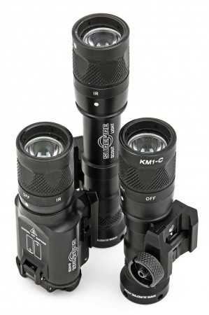 Night hunting using night vision and thermals surefire v series lights