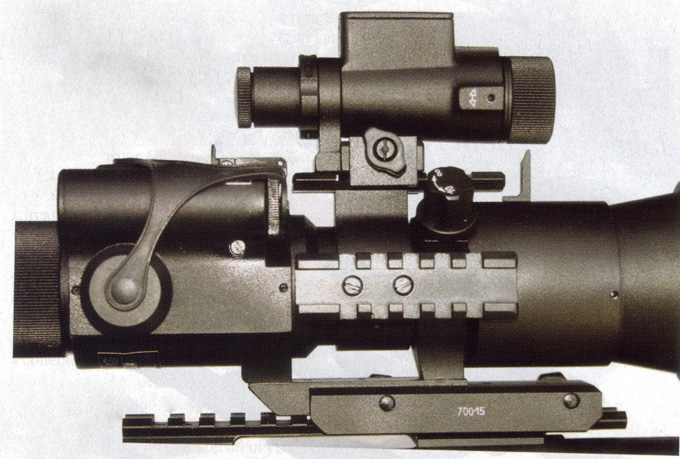 Night Vision Scope with weaver type mount to picatinny rail