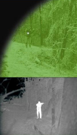 Night Vision verses Thermal Night Vision