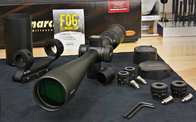 Nikon rifle scope at gun show