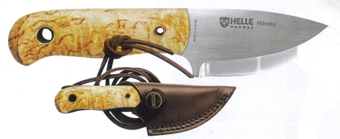Norway Helle Mandra Knife