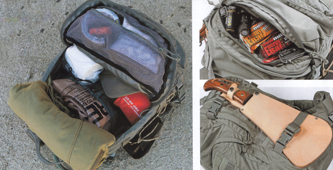 Preppers bug out pack